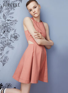 Bare Skin Cutout Waist Dress pictures & photos