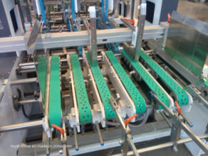 Mini Box Folder Gluer Machine with ISO9001 pictures & photos