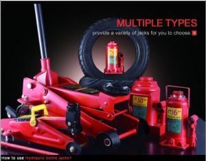 4ton Hydraulic Bottle Cylinder Jack for Car Reparing pictures & photos