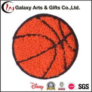 Customized Basketball Embroidery Chenille Patches Iron on Patches for Clothing pictures & photos
