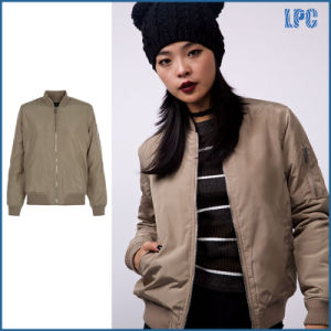 Hot Sell Casual Baseball Jacket for Women pictures & photos