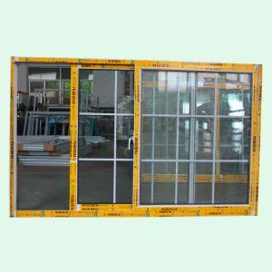 Powder Coated Aluminum Sliding Window with Grid Sliding Window, Aluminum Window K01181 pictures & photos