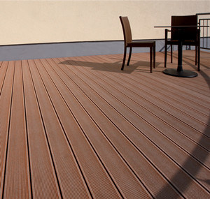 Hollow Engineered WPC Floor with CE (150*25mm) pictures & photos