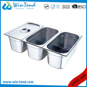 Hot Sale Stainless Steel Electrolytic Restaurant Kitchen 1/1 Size Gn Container pictures & photos