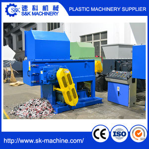 Single Shaft Recycling Shredder Machine pictures & photos
