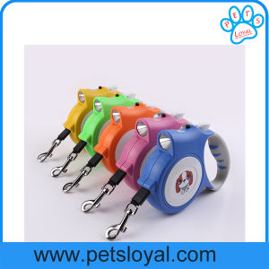 Factory Pet Supply Product LED Retractable Pet Lead Dog Leash pictures & photos