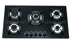 Kitchenware Tempered Glass Built in Gas Hob Gas Stove Jzg95002 pictures & photos