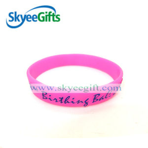 High Quality Personalized Printed Silicone Bracelets for Promotional Gift pictures & photos
