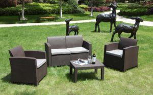 New Outdoor Sofa, Garden Sofa, Patio Sofa, Rattan Sofa, Wicker Sofa, Injection Plastic Sofa2017 pictures & photos