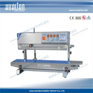 Hualian 2017 Vertical Sealer with Printing Device (FRBM-810II) pictures & photos