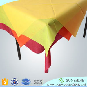 Spunbonded Nonwoven TNT Table Cloth pictures & photos