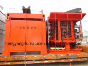 5t Metal Induction Melting Furnace for Iron, Copper, Steel, Aluminum pictures & photos