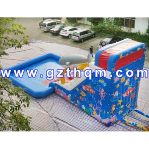 Commercial Adult Inflatable Water Slide/Commercial Quality Inflatable Slides pictures & photos