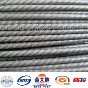 Competitive High Tensile PC Steel Wire with 4 Spiral Ribs pictures & photos