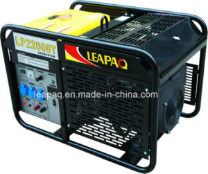 9.0kw Electric Start Portable Gasoline Generator pictures & photos