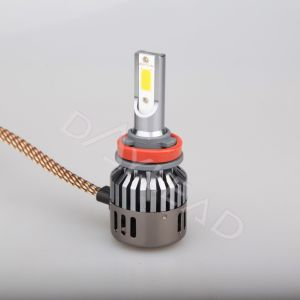 Super Bright LED Car Light with Fan 2800lm COB Chip Auto Headlight pictures & photos
