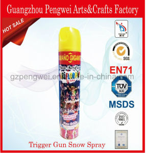 Wholesale Trigger-Gun Flying Snow for Festival Decoration pictures & photos
