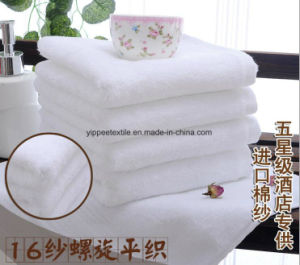 100% Cotton Hotel Face Towel pictures & photos