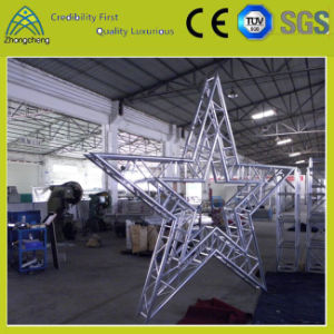 Stage Lighting Support Systems Star-Shaped Aluminum Truss for Stage Performance pictures & photos