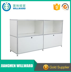 Transcube Stainless Steel Modern Two Tiers Modular Cabinet pictures & photos
