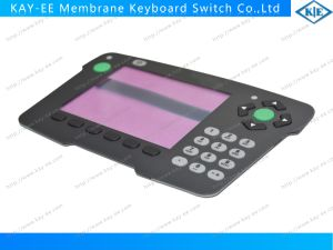 Gradient Print Overlay Push Button Membrane Keypad Switch pictures & photos
