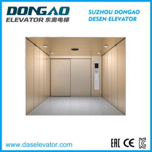Machine Roomless Freight Elevator with Good Quality Goods Elevator pictures & photos