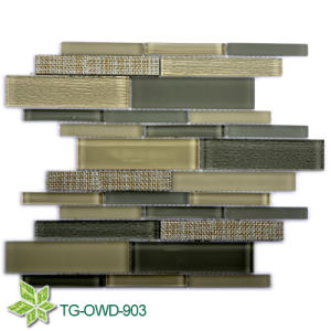 Strip Mosaic Glass Tiles (TG-OWD-903) pictures & photos