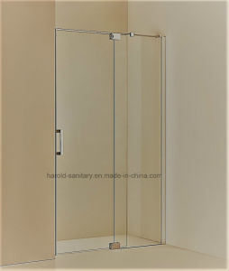 Hr-01-D Straight Hinge Open Shower Door pictures & photos