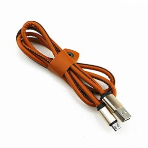 Wholesales Micro USB Leather Cable for iPhone, Micro USB Cable Nylon Braided Micro USB Charger for iPhone pictures & photos