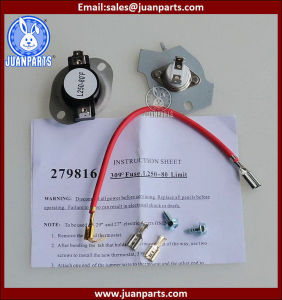279816 Thermal Cutoff Kit for Whrilpool and Kenmore Dryer pictures & photos