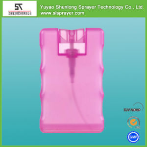 New 10ml Pocket Spray Bottle with Top Cap, Credit Card Spray Bottle with Top Cap, 10ml Card Shape Spray Bottle pictures & photos