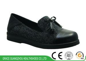 Women Health Diabetic Shoes Bowknot Ladies Shoes pictures & photos
