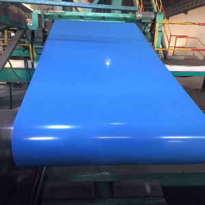 Chinese Supplier Color Coat Galvalume Steel Sheet, Color Coat Galvalume Steel Sheet in Coil with Lowest Price pictures & photos