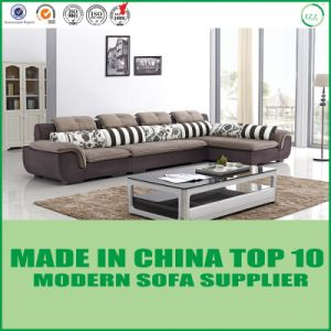 USA Modern Living Room Furniture Fabric Sectional Sofa Set pictures & photos