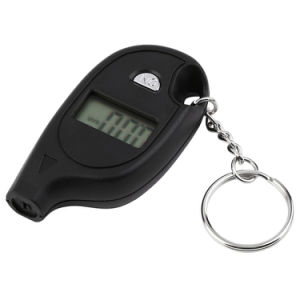 Mini Keychain LCD Digital Car Tire Tyre Air Pressure Gauge Auto Motorcycle Test Tool pictures & photos