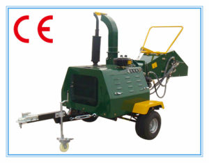 Diesel Engine Wood Chipper Dh-40, 40HP, Ce Certificate, Hydraulic Feeding, ATV Towed pictures & photos