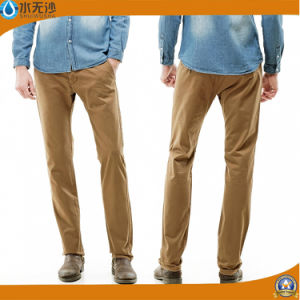 Wholesale Men Chino Pants 2017 Cotton Fashion Twill Pants pictures & photos