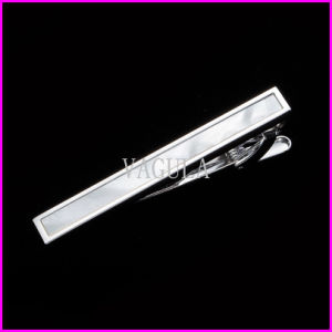 VAGULA Hot Sale Mother Pearl Sea Shell Wedding Gift Lawyer Tie Clip 30 pictures & photos