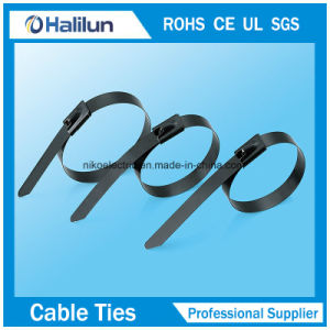 4*250mm Stainless Steel Ball Lock Cable Tie in Bundling Wires pictures & photos