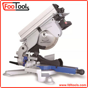 10′′ 1600W Compound Miter Saw with Upper Table (220610) pictures & photos