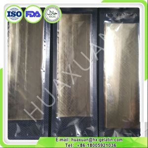 Good Quality Bronze 120 Bloom Leaf Gelatin Sheets pictures & photos