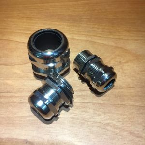 Cadmium Plated Brass Cable Gland pictures & photos