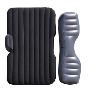 Split Type Flocked PVC Inflatable Car Mattress for Outdoor pictures & photos