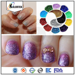 Sparkling Effect Glitter Powder Pigment pictures & photos