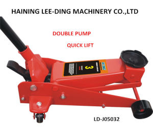 2ton 9kg Low Profile Hydraulic Floor Jack Strong Construction pictures & photos