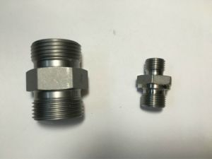 DIN Bite Type 24 Degree Elbow Hydraulic Tube Fittings pictures & photos