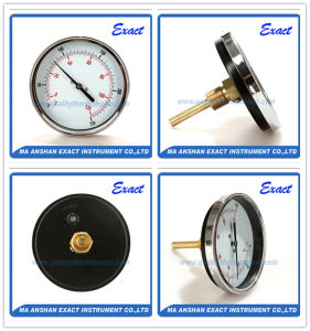 Black Steel Body Thermometer-Water Temperature Thermometer -Bimetal Thermometer pictures & photos