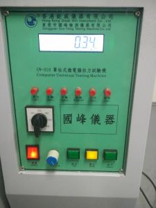 Microcomputer Universal Testing Machine/Textile Material Strength Testing Machine/Equipment/Tensile Strength Testing Machine (GW-010A2) pictures & photos