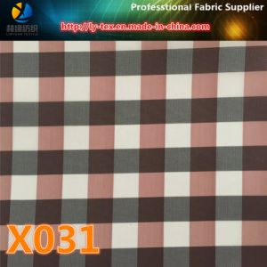Prompt Goods, Polyester Gingham Check, 10 Colors for You to Choose (X031-34) pictures & photos