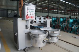 Guangxin Automatic Sesame Oil Press Machine with Oil Filter Yzyx10-8wz pictures & photos